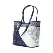 CALVIN KLEIN torbica CK Zone Medium Shopper - Bandana Enamel Blue