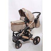 Only Savona 3 u 1 kolica za bebe beige, sedište za automobil