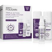FOLIGAIN Kompletna Formula za Ponovno Rast Las za Ženske s Trojnim Delovanjem z 10% Trioxidilom ®