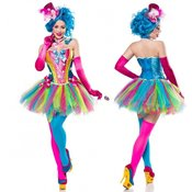 pustni kostum Candy Girl, večbarven