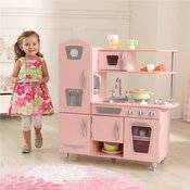 Djecja kuhinja Vintage Play Kitchen - Pink