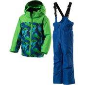 Mckinley Timber Kds + Ray Kds, decji komplet za skijanje, plava