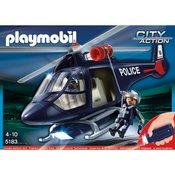 Playmobil Policijski Helikopter