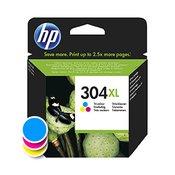 HP -kartuša HP N9K07AE nr.304XL (barvna), original