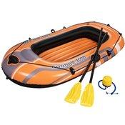 BESTWAY napihljivi čoln z vesli in nožno tlačilko