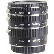 VOKING auto fokus komplet za Canon DSLR 13mm, 21mm, 31mm VKET3-C