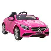 Licencirani Mercedes S63 AMG rozi - auto na akumulator