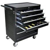 JBM delavniški voziček 53195 + orodje, 6 predalov