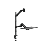 LogiLink BP0030 27 Clamp Black flat panel desk mount
