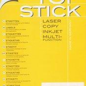 Etikete TOPSTICK 70X25,4 A4/33 1/100