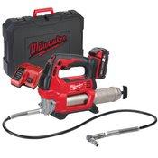 MILWAUKEE akumulatorska mazalica m18 gg-201c + baterija 1x2.0ah (4933440490)