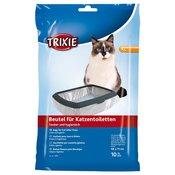 Trixie vrečka za mačjo toaleto XL: do 56 × 71 cm, 10 kosov