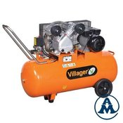 Villager Kompresor Klipni VAT VE-100L 330l/min 100l 8bar 2 2kW/3 0KS 220V
