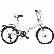 Scirocco gradski bicikl Bjela GARDA 20