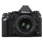 NIKON D-SLR fotoaparat DF + 50mm f1.8 crni