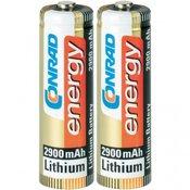 Conrad energy Mignon baterija (AA) litijska, Conrad energy Extreme Power LR06 2900 mAh 1.5 V 2 kom.