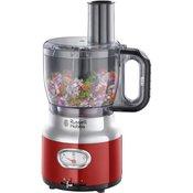 Russell Hobbs 25180-56 Retro kuhinjski robot, rdeč