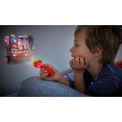 Philips 71788/32/16 - LED Otroška baterijska svetilka in projektor DISNEY CARS LED/3xLR44