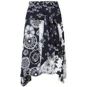 Desigual ženska suknja Fal Paola, 38, crna