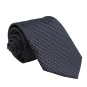 Muška kravata s uzorkom Star crna