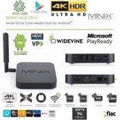 MINIX mini računalnik Neo U9-H 4K Android Mini PC 8X1.5GHz UHD HDR10, 2/16GB RAM/eMMC