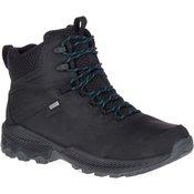 Merrell FORESTBOUND MID WP, muške cipele za planinarenje, crna