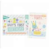 MILESTONE knjižica za fotografiranje - Baby's First Birthday