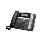 Cisco Telefonski sustav, VoIP Cisco Cisco IP Phone 7861-3PCC: - SIP, SRTP, 1 LC zaslon Antracitna boja
