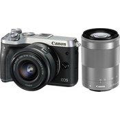 Canon fotoaparat EOS M6 SL DZ 15-45 + 55-200