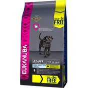 15 kg + 3 kg besplatno! Eukanuba suha hrana za pse - Adult Large Breed ChickenBESPLATNA dostava od 299kn