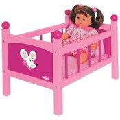 Krevet za lutke sa jastukom i jorganom 91300