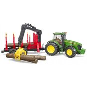 Traktor John Deere 7930 sa prikolicom za drva Bruder 030544