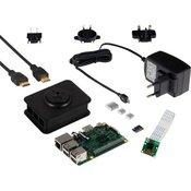 Komplet s kamero Raspberry Pi 3, model B, 1 GB, Noobs, vklj. napajalnik, prog. opremo, IP-kamero
