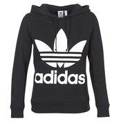adidas  Sportske majice TREFOIL HOODIE  Crna