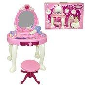 Kozmetična mizica z lučko in