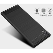 TECH-PROTECT - TPUCARBON for Sony Xperia XA1 ULTRA, black