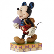 TO JIM SHORE Mickey Mouse Eager Learn Figure - 4051995 Disney, 13 cm
