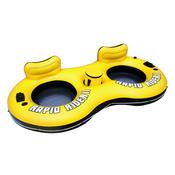 BESTWAY bazenska plutajuca ležaljka za 2 osobe na napuhavanje