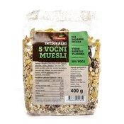 Integralni 5 voćni musli - 400 g