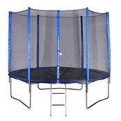 SPARTAN trampolin z mrežo in lestvijo, 180cm