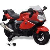 vidaXL BMW 283 Elektricni motor za djecu, crveni, 6 V