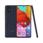 SAMSUNG pametni telefon Galaxy A51 4GB/128GB Dual SIM, črn