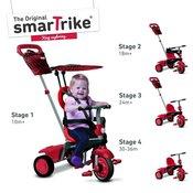 Smart Trike tricikl Vanilla - Red