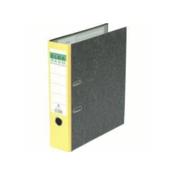 Elba Rado ring binder Aluminium,Cardboard Black,Yellow