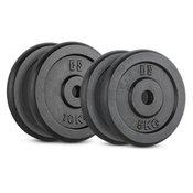 CAPITAL SPORTS IPB 30kg Set uteži, 2 x 5 kg + 2 x 10 kg 30 mm (PL-IPB-SET10)