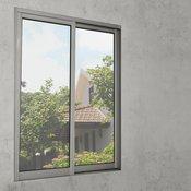[casa.pro]® samolepilna folija za okno za zaščito pred pogledi (1x50m), srebrna