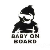 Beba u autu nalepnica