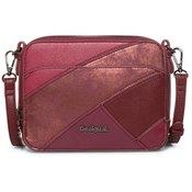 Desigual ženska torbica Priya Jasper, bordo crvena