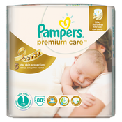 PAMPERS pelene PREMIUM CARE NEWBORN 88