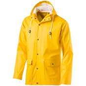 McKinley ASTON II UX, muški mantil za kišu, žuta
